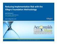 Reducing - Allegro Development Corporation