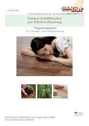 F01: Parkett Schiffsboden - Holz-TRAT Ideen in Holz