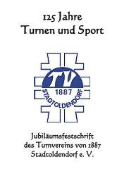 125 Jahre Turnen und Sport - Turnverein von 1887 Stadtoldendorf