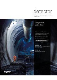 Detector 01.2012 - Tyco Fire & Integrated Solutions AG