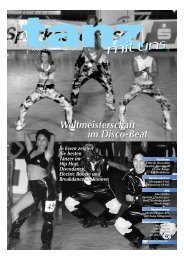 Weltmeisterschaft im Disco-Beat Weltmeisterschaft im Disco ... - TNW