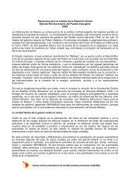 Elementos para el análisis de la Situación Actual - Cedema.org