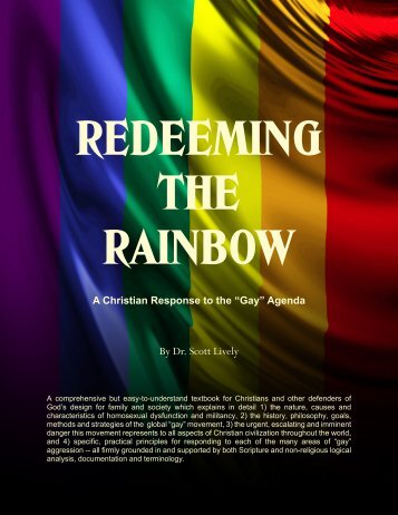 REDEEMING THE RAINBOW