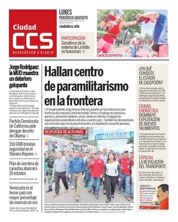 Hallan centro de paramilitarismo en la frontera