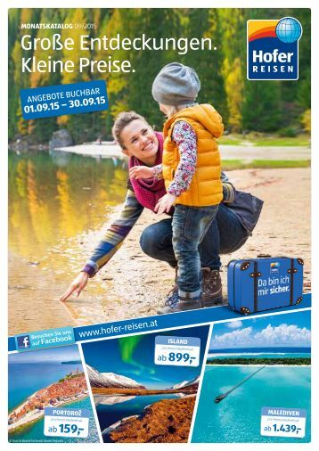 Monatskatalog September 2015