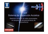 T-Type Sistema de Inspección Acústica