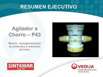 RESUMEN EJECUTIVO Agitador a Chorro – P43