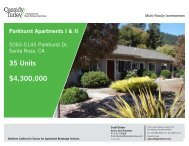 35 Units $4,300,000 - Cassidy Turley Northern California