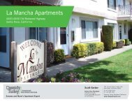 La Mancha Apartments - Cassidy Turley Northern California