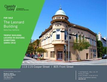 The Leonard Building - Cassidy Turley Northern California