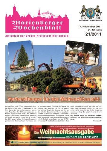 """Kalender """"Heimatland Erzgebirge"""" - Bergstadt Marienberg"""