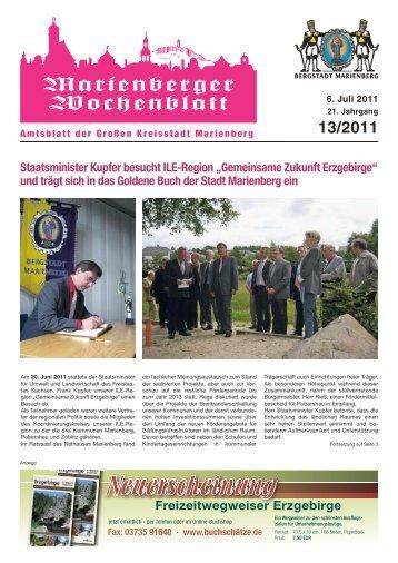 Gemeinsame Zukunft Erzgebirge - Bergstadt Marienberg