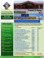 May 2013 - Greater Antelope Valley Association of REALTORS