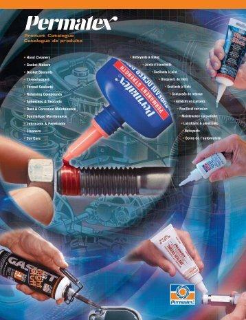 Adhesives & Sealants - Permatex