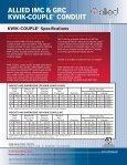 ALLIED IMC & GRC KWIK-COUPLE CONDUIT - Page 2