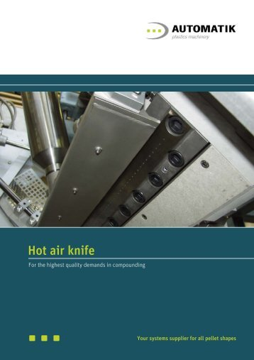 Hot air knife - Maag