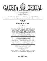 GACETA OFICIAL