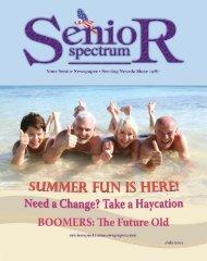 July 2011 - Senior Spectrum Newspaper