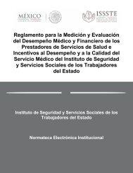 Reglamento para la Medición y Evaluación del Desempeño Médico ...
