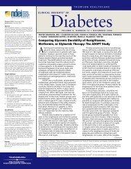 Volume 9, Number 12 December 2006 - National Diabetes ...