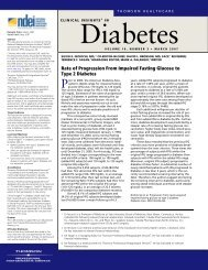 Volume 10, Number 3 March 2007 - National Diabetes Education ...