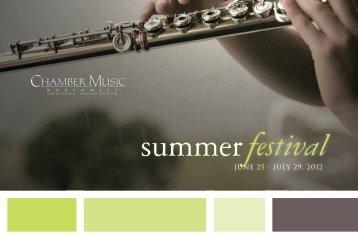 Expect The Extraordinary - Chamber Music Northwest