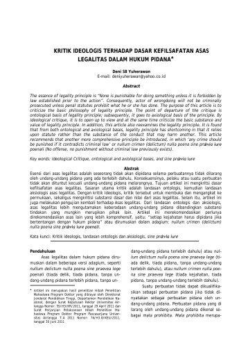 Download - Jurnal Dinamika Hukum