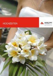 Hochzeitsmappe - Austria Trend Hotels & Resorts