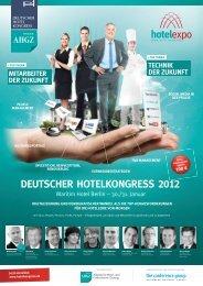 DEUTSCHER HOTELKONGRESS 2012