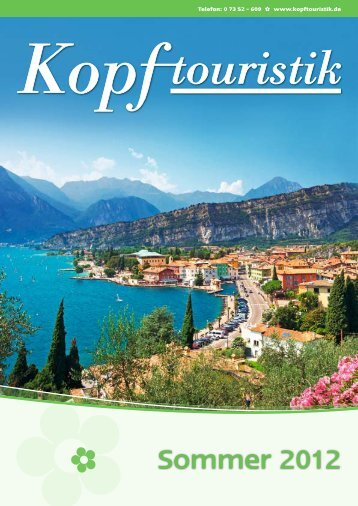 Sommer 2012 - Kopf Touristik