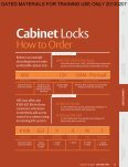 Cabinet Locks - Page 2