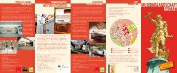 Informationen zu allen Rastatter Museen - Stadt Rastatt