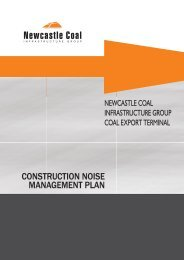 CONSTRUCTION NOISE MANAGEMENT PLAN
