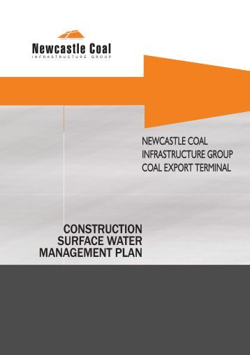CONSTRUCTION SURFACE WATER MANAGEMENT PLAN ...