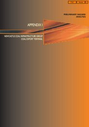 APPENDIX I PRELIMINARY HAZARD ANALYSIS