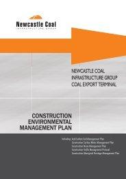 CONSTRUCTION ENVIRONMENTAL MANAGEMENT PLAN
