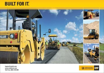 Zahid Tractor Cat Paving