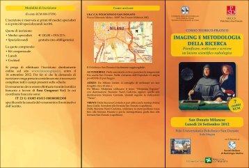 IMAGING E METODOLOGIA DELLA RICERCA 7