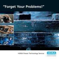 Der HORA Power Technology Service begleitet ein Kraftwerk in ...