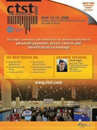 CoNFErENCE HIgHLIgHTS - Smart Card Alliance