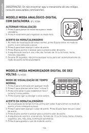 modelo moda analógico-digital com data/hora qfl103ba modelo ...