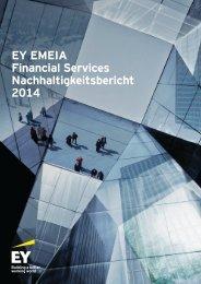 EY EMEIA Financial Services Nachhaltigkeitsbericht 2014