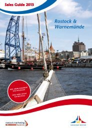 Sales Guide 2013 - Hansestadt Rostock
