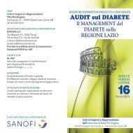 Programma - Istituto per lo studio e la cura del diabete