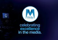 recognising the strength and depth of the media industry