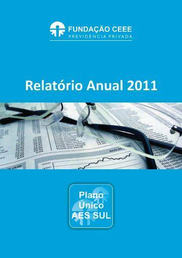 Relatório Anual 2011 - Fundação CEEE