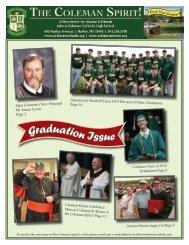 Summer 2012 - John A. Coleman Catholic High School