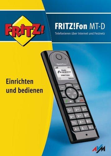 AVM FRITZ!Fon MT-D - TKR