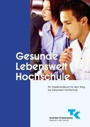 Gesunde Lebenswelt Hochschule - Techniker Krankenkasse