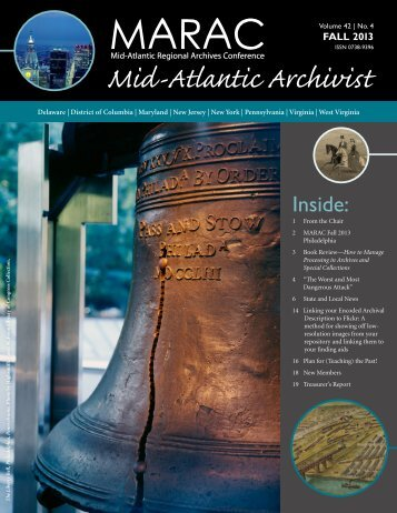 Mid-Atlantic Archivist